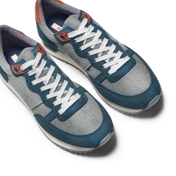 BATA Chaussures Homme bata, Bleu, 849-9456 - 26