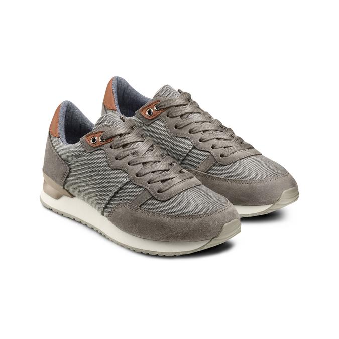 BATA Chaussures Homme bata, Gris, 849-2456 - 16