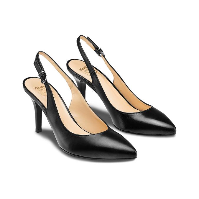 BATA Chaussures Femme bata, Noir, 724-6196 - 16