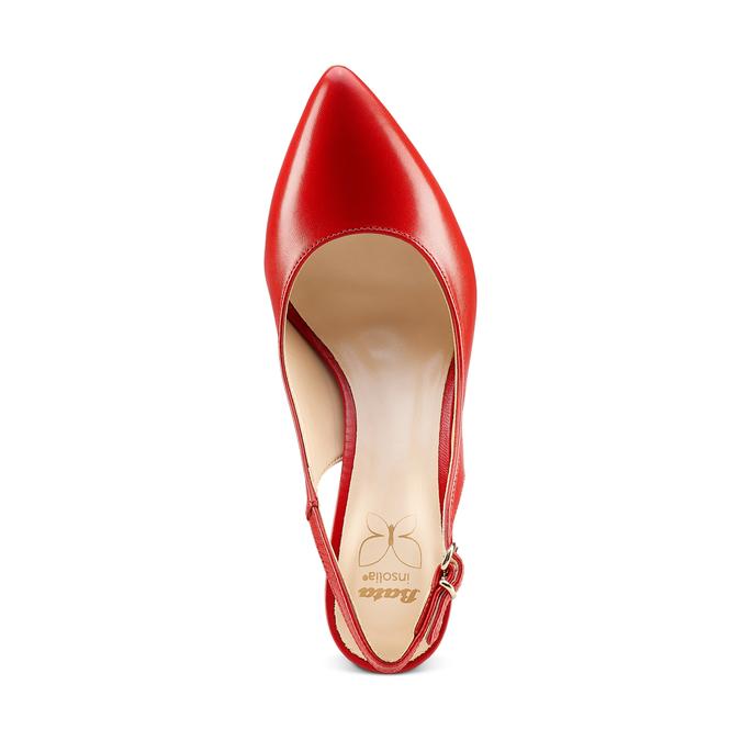 BATA Chaussures Femme bata, Rouge, 724-5196 - 17