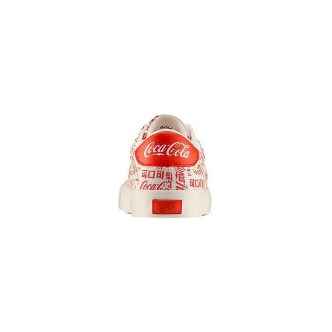 Bata Heritage x Coca Cola Homme bata-coca-cola, Blanc, 889-1328 - 15