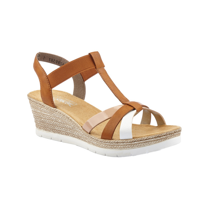 RIEKER Chaussures Femme rieker, Brun, 661-4318 - 13