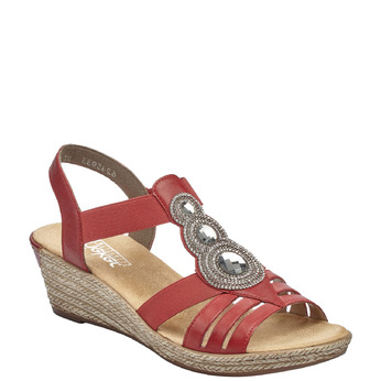 RIEKER Chaussures Femme rieker, Rouge, 661-5331 - 13