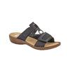 Chaussures Femme rieker, Noir, 661-6195 - 13