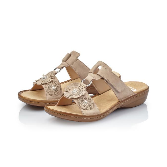 RIEKER Chaussures Femme rieker, Beige, 661-2199 - 26
