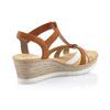 RIEKER Chaussures Femme rieker, Brun, 661-4318 - 15