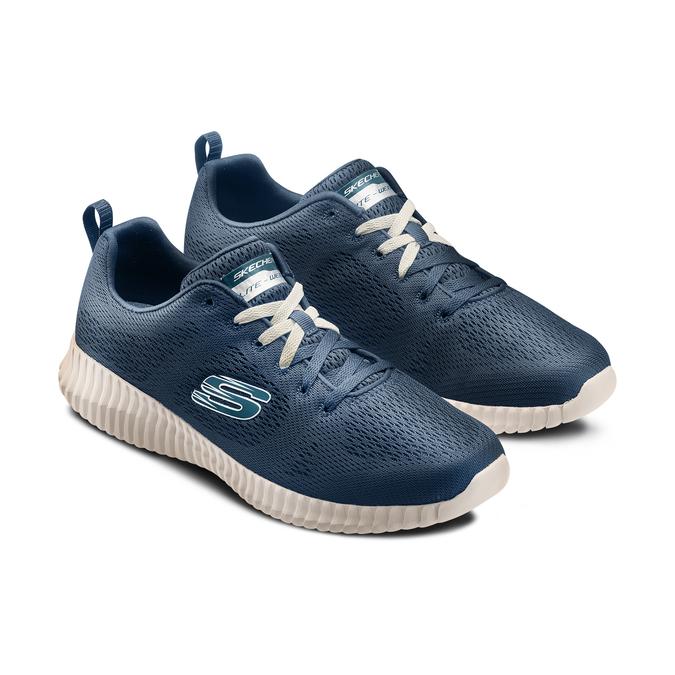 SKECHERS Chaussures Homme skechers, Bleu, 809-9219 - 16