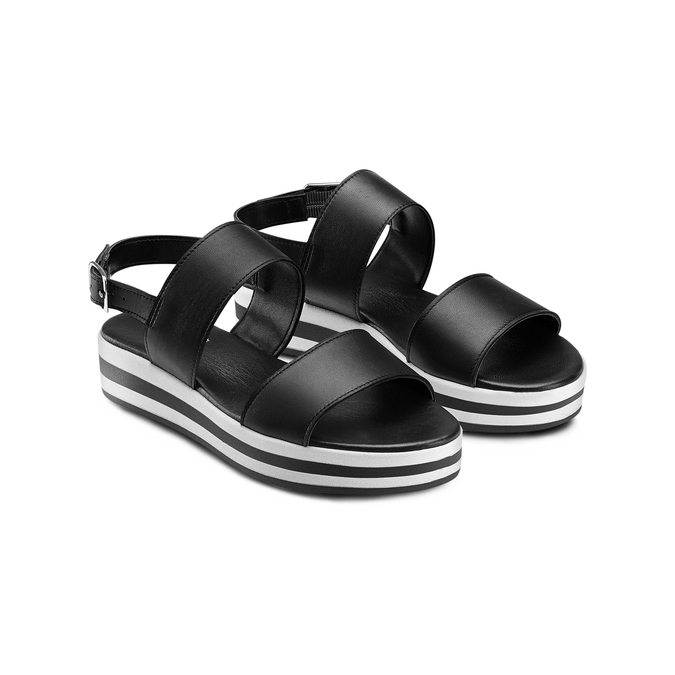 BATA Chaussures Femme bata, Noir, 564-6106 - 16