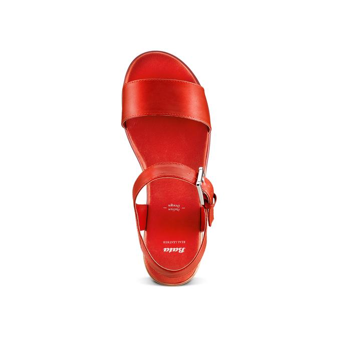 BATA Chaussures Femme bata, Rouge, 761-5670 - 17