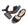 BATA RL Chaussures Femme bata-rl, Noir, 769-6148 - 26