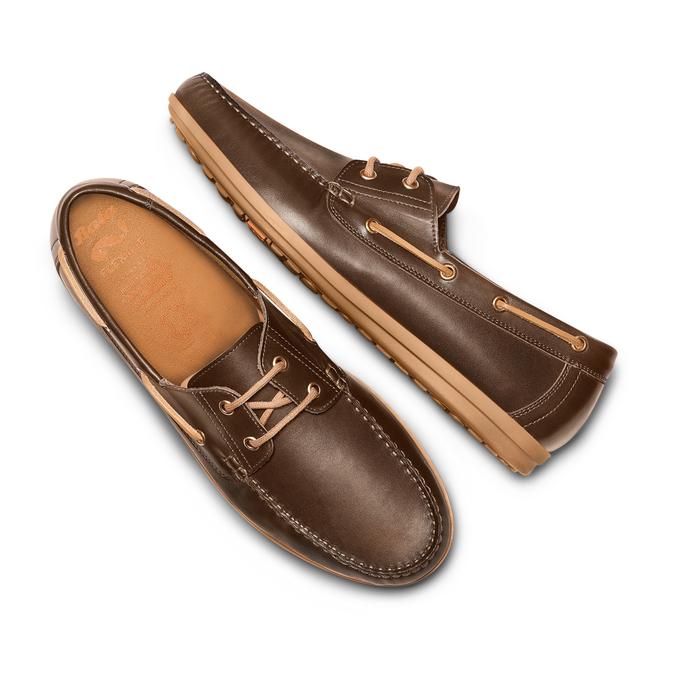 FLEXIBLE Chaussures Homme flexible, Brun, 854-4106 - 26