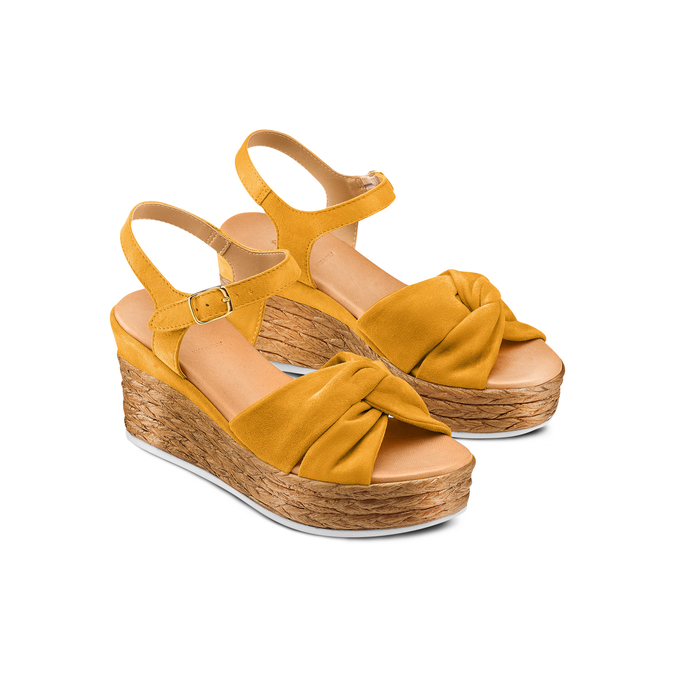 BATA Chaussures Femme bata, Jaune, 763-0591 - 16