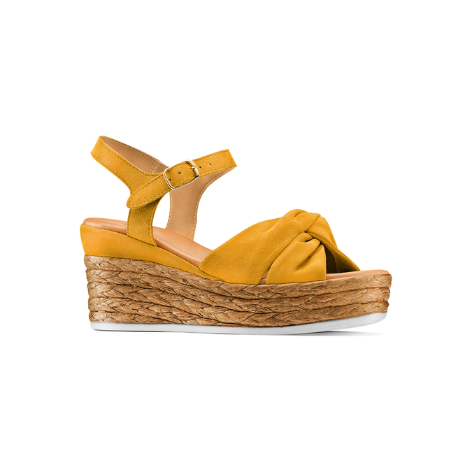 BATA Chaussures Femme bata, Jaune, 763-0591 - 13