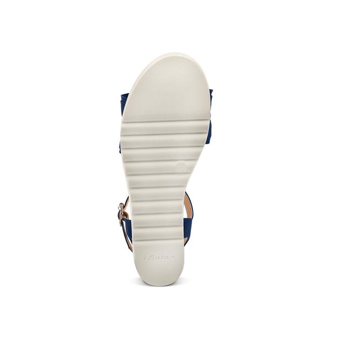 BATA Chaussures Femme bata, Bleu, 669-9382 - 19