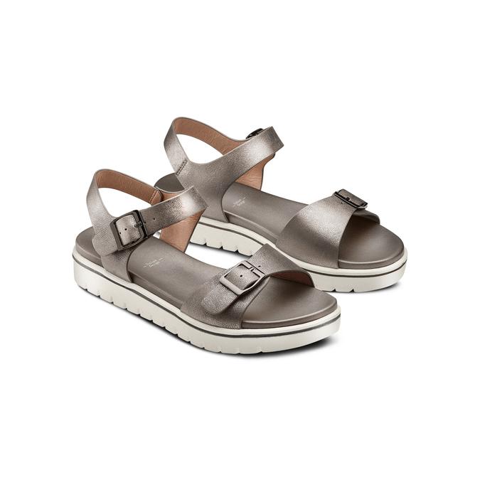 BATA Chaussures Femme bata, Gris, 561-2493 - 16