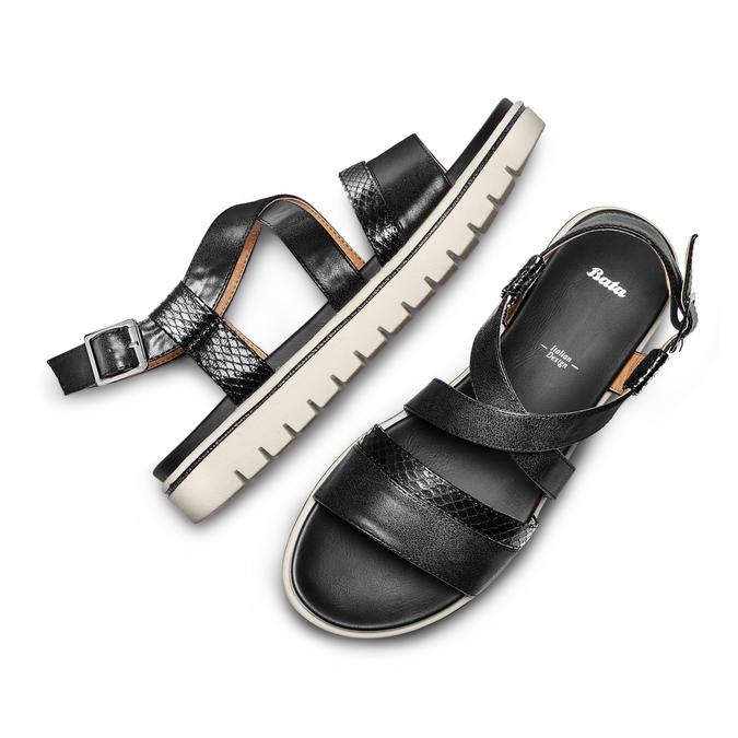 BATA Chaussures Femme bata, Noir, 561-6564 - 26