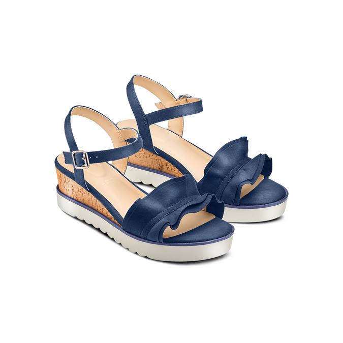 BATA Chaussures Femme bata, Bleu, 669-9382 - 16