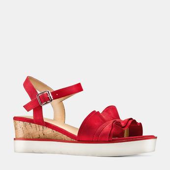 BATA Chaussures Femme bata, Rouge, 669-5382 - 13