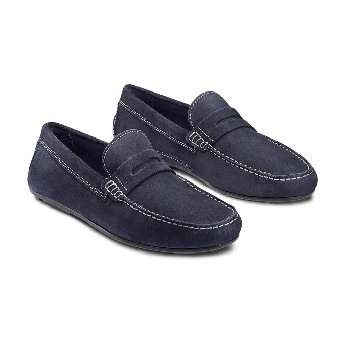 BATA Chaussures Homme bata, Bleu, 853-9180 - 16