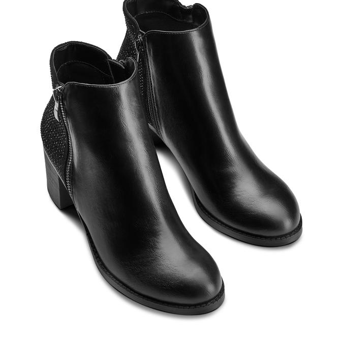 Bottines bata, Noir, 791-6475 - 17