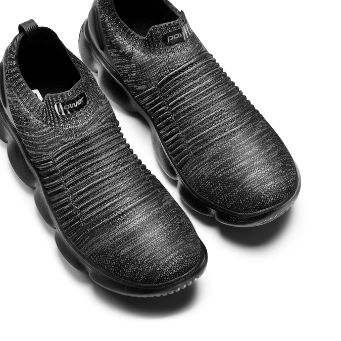 POWER  Chaussures Homme power, Noir, 809-6241 - 26