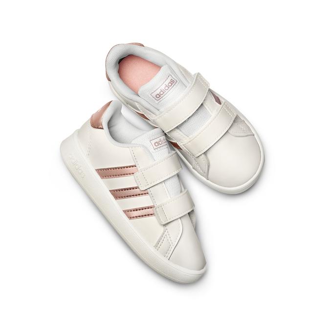 Chaussures Enfant adidas, Blanc, 101-1286 - 26
