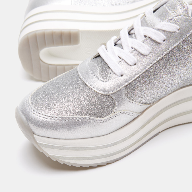 Chaussures Femme bata-light, Argent, 649-1162 - 19