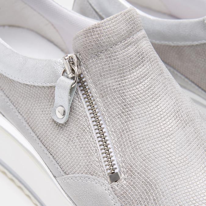 Chaussures Femme bata, Argent, 633-1102 - 26