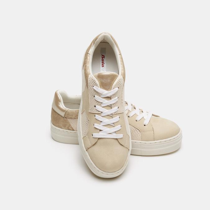 Chaussures Femme bata, Beige, 541-8559 - 17