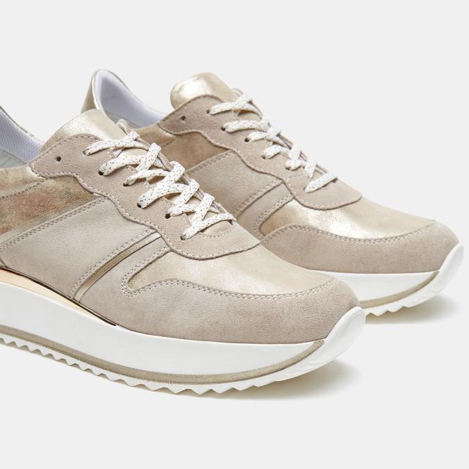 Chaussures Femme bata, Beige, 643-8159 - 15