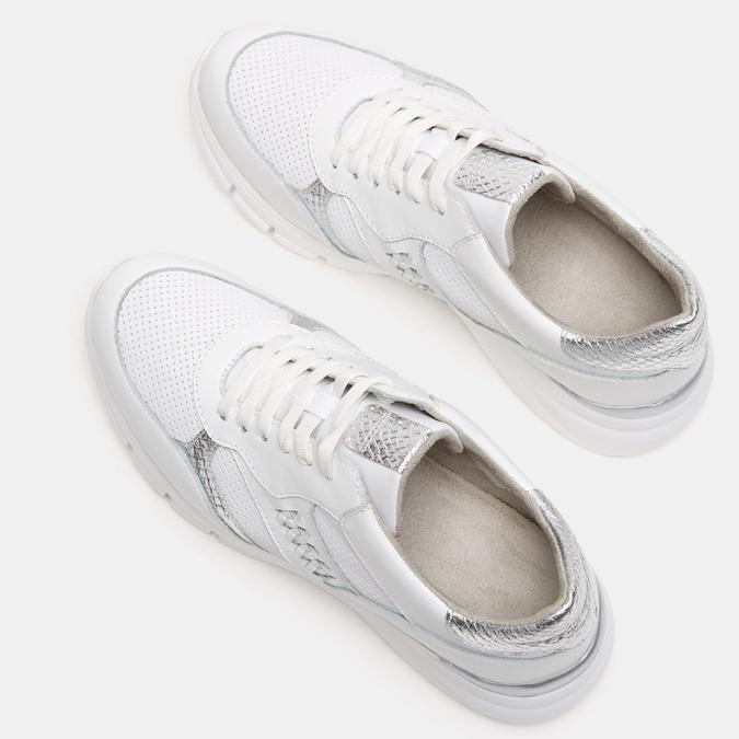 Chaussures Femme bata, Blanc, 644-1158 - 15