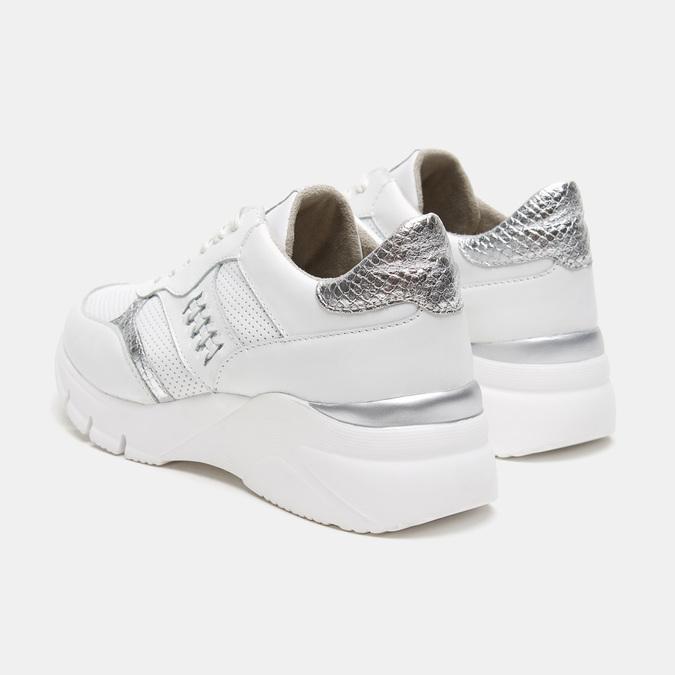 Chaussures Femme bata, Blanc, 644-1158 - 16