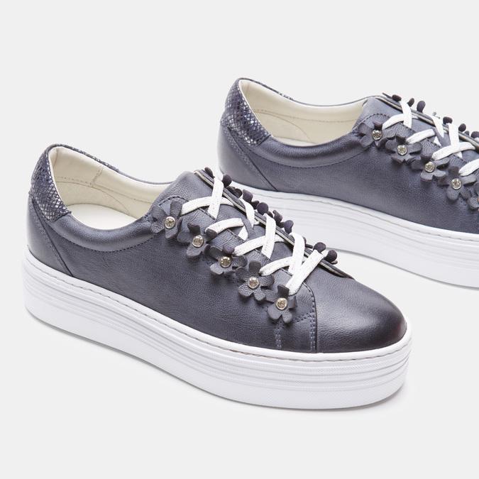 Chaussures Femme bata, Bleu, 544-9548 - 15