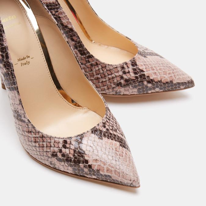 Chaussures Femme bata, Beige, 721-8352 - 26