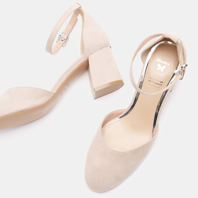 Chaussures Femme insolia, Beige, 629-8199 - 19