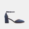 Chaussures Femme insolia, Bleu, 629-9199 - 13