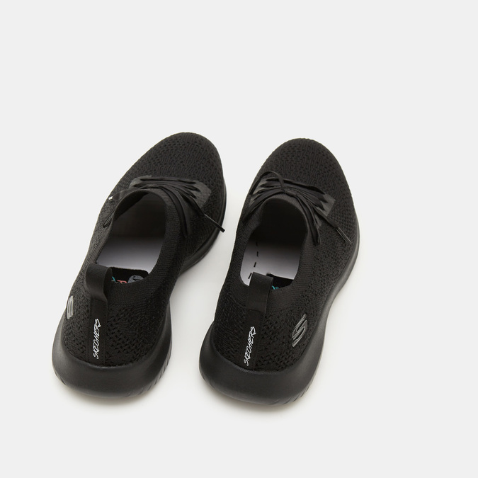 Chaussures Femme skechers, Noir, 509-6286 - 16
