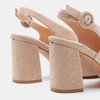 Chaussures Femme insolia, Beige, 763-8394 - 26