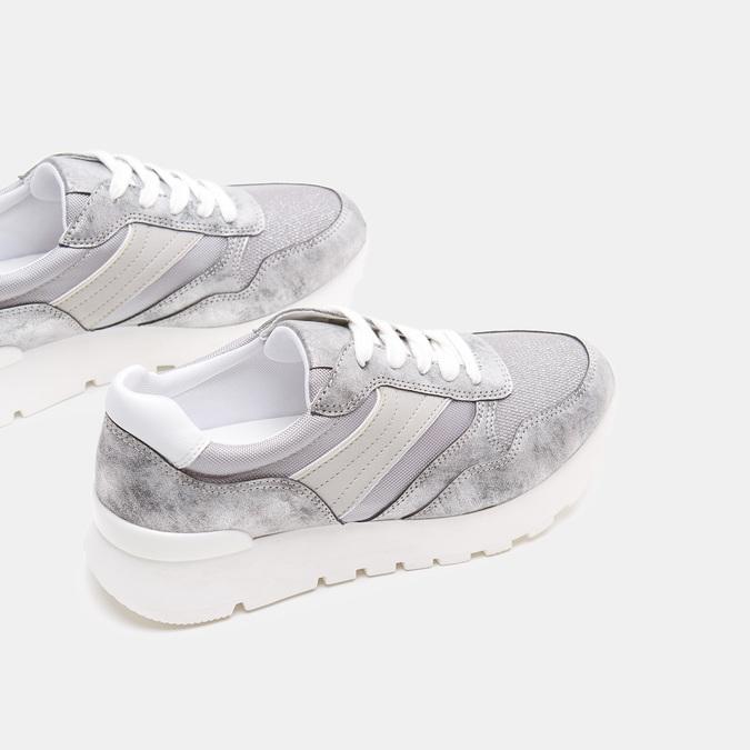 Chaussures Femme bata, Argent, 541-2574 - 15