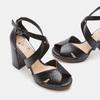 Chaussures Femme insolia, Noir, 761-6415 - 19