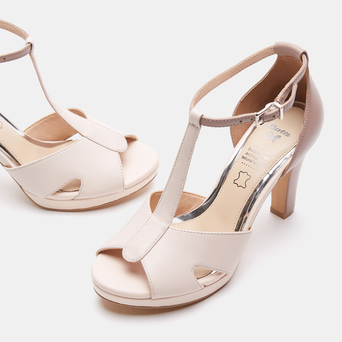 Chaussures Femme insolia, Rose, 764-5413 - 15