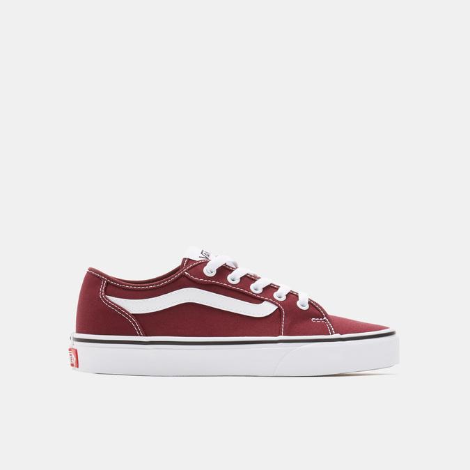 chaussure femme vans rouge