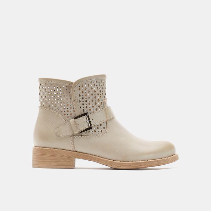 Chaussures Femme bata, Beige, 591-8166 - 13