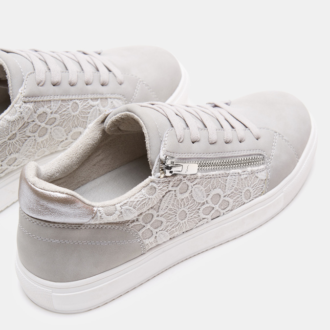 Chaussures Femme bata, Gris, 549-2553 - 15