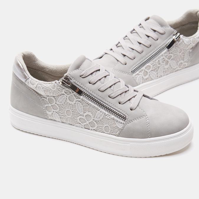 Chaussures Femme bata, Gris, 549-2553 - 17