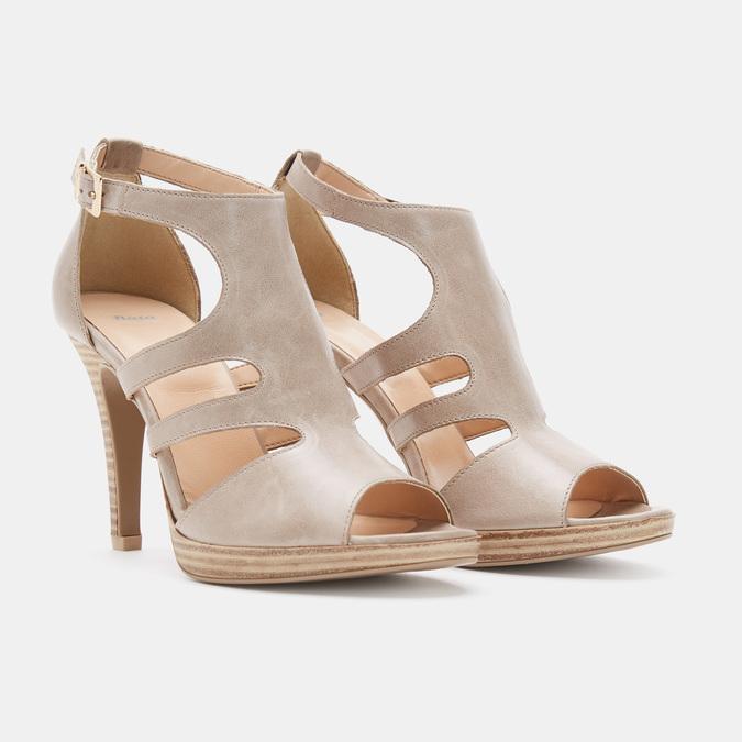 Chaussures Femme bata, Beige, 764-8391 - 19