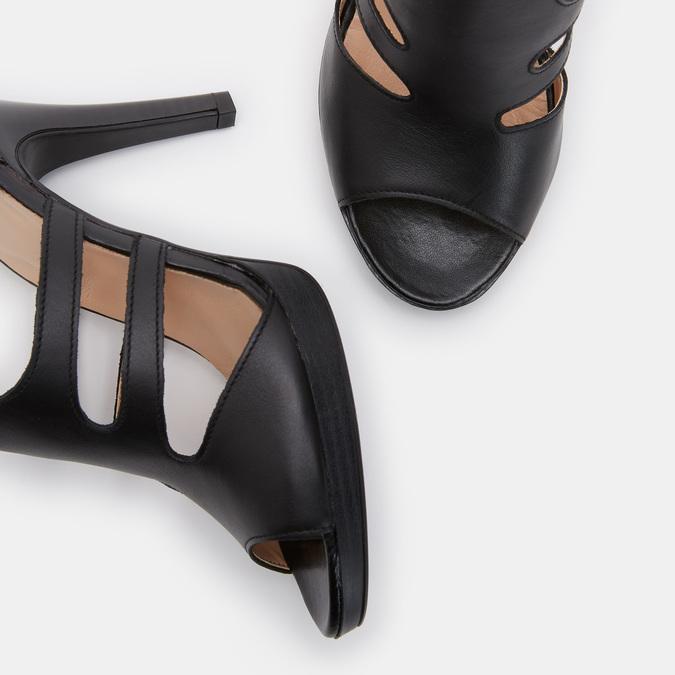 Chaussures Femme bata, Noir, 764-6391 - 15