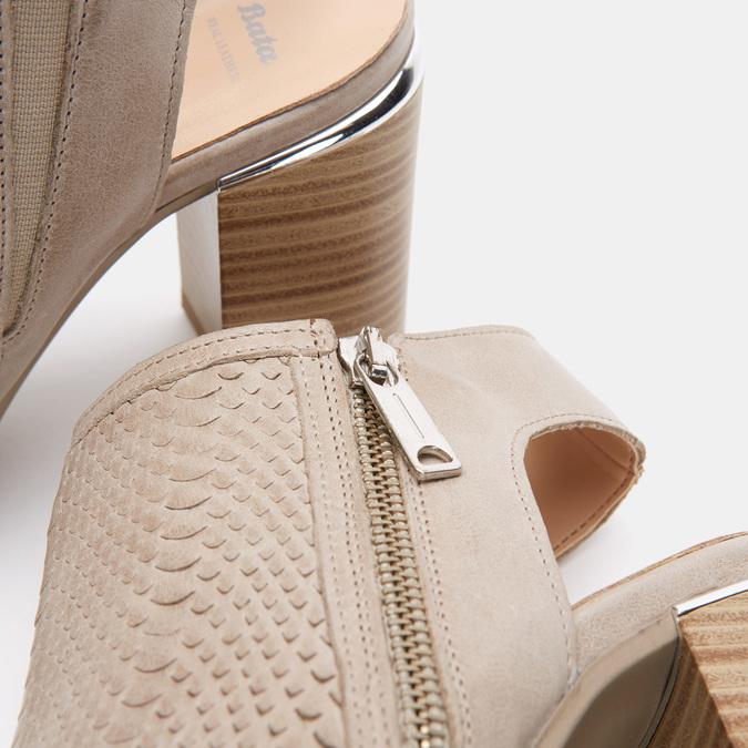 Chaussures Femme bata, Gris, 764-2369 - 26