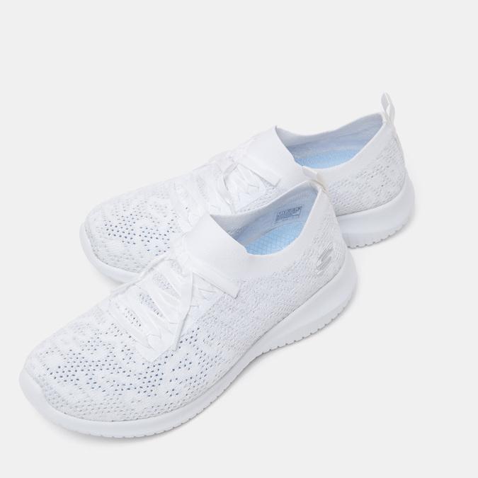 Chaussures Femme skechers, Blanc, 509-1286 - 15