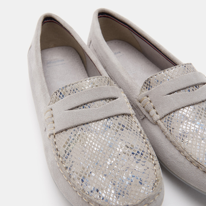 Chaussures Femme bata, Gris, 513-2221 - 15